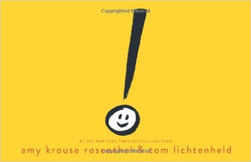 Exclamation Mark by Amy Krouse Rosenthal - funny books for preschoolers