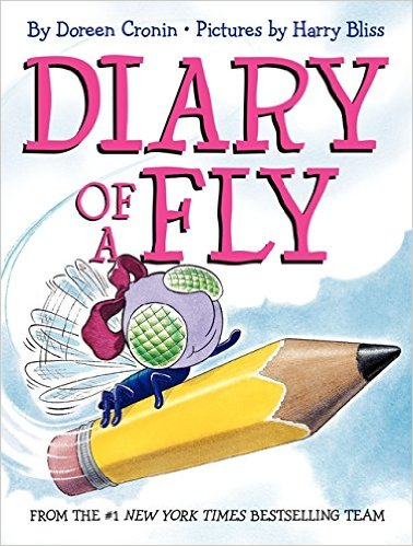 Diary of a Fly by Doreen Cronin - funny books for preschoolers