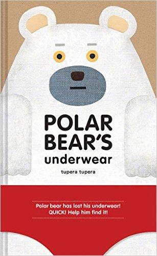 Polar Bear's Underwear by Tupera Tupera - funny books for kids