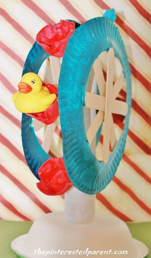 paper plate ferris wheel  u2013 the pinterested parent