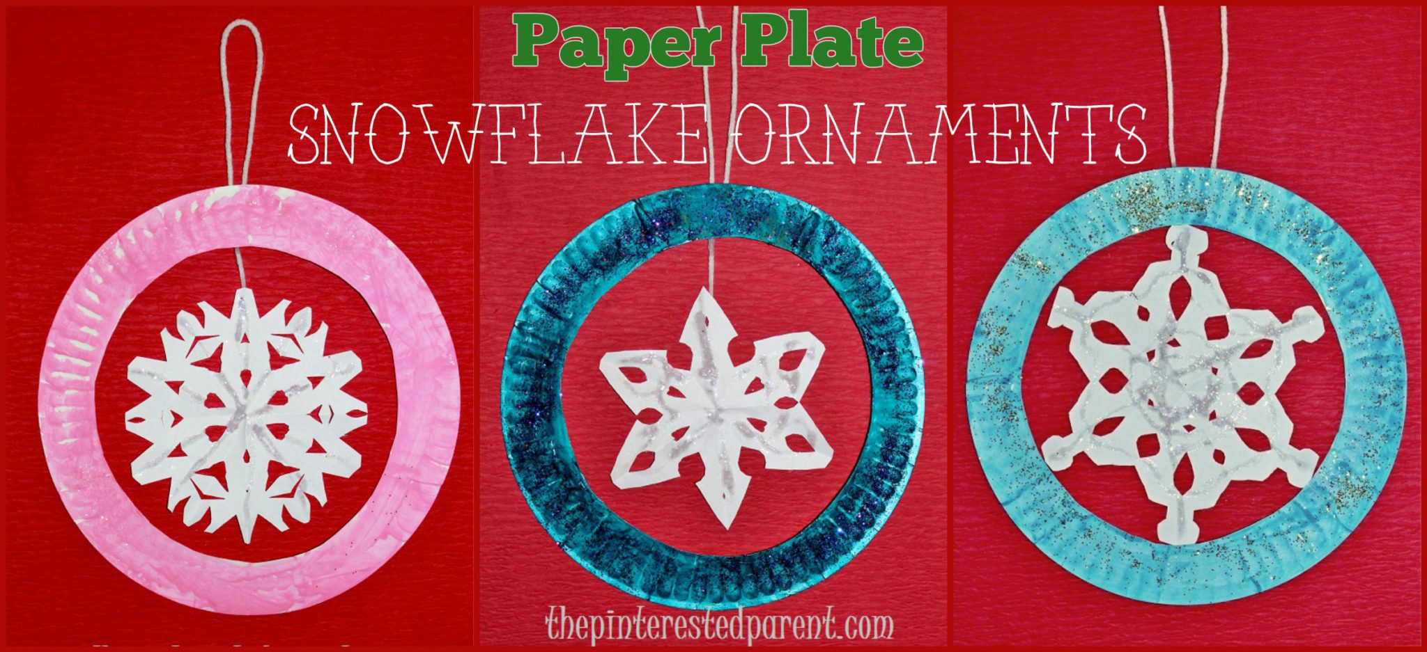 Snowflake crafts for kids the pinterested parent for How to make winter crafts