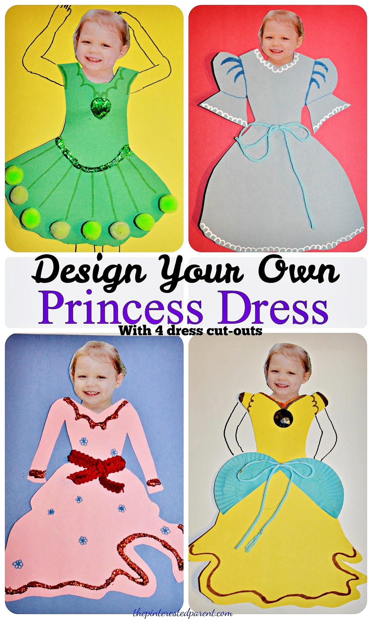 Let Your Kid Design Her Own Dress