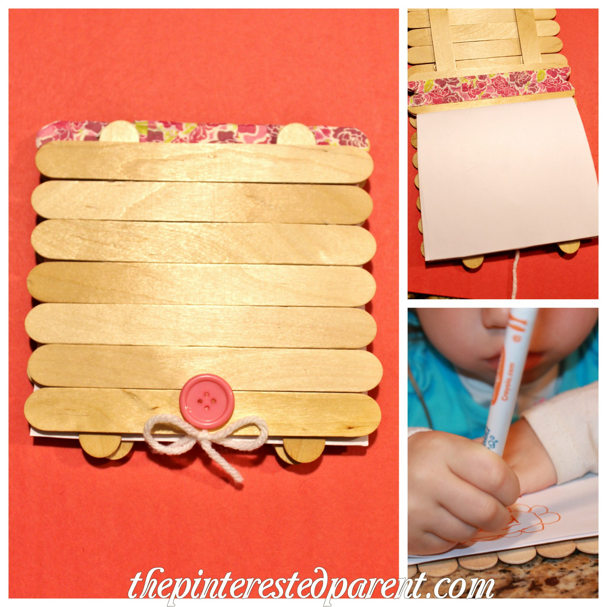 Popsicle stick art journal the pinterested parent for Popsicle sticks arts and crafts ideas