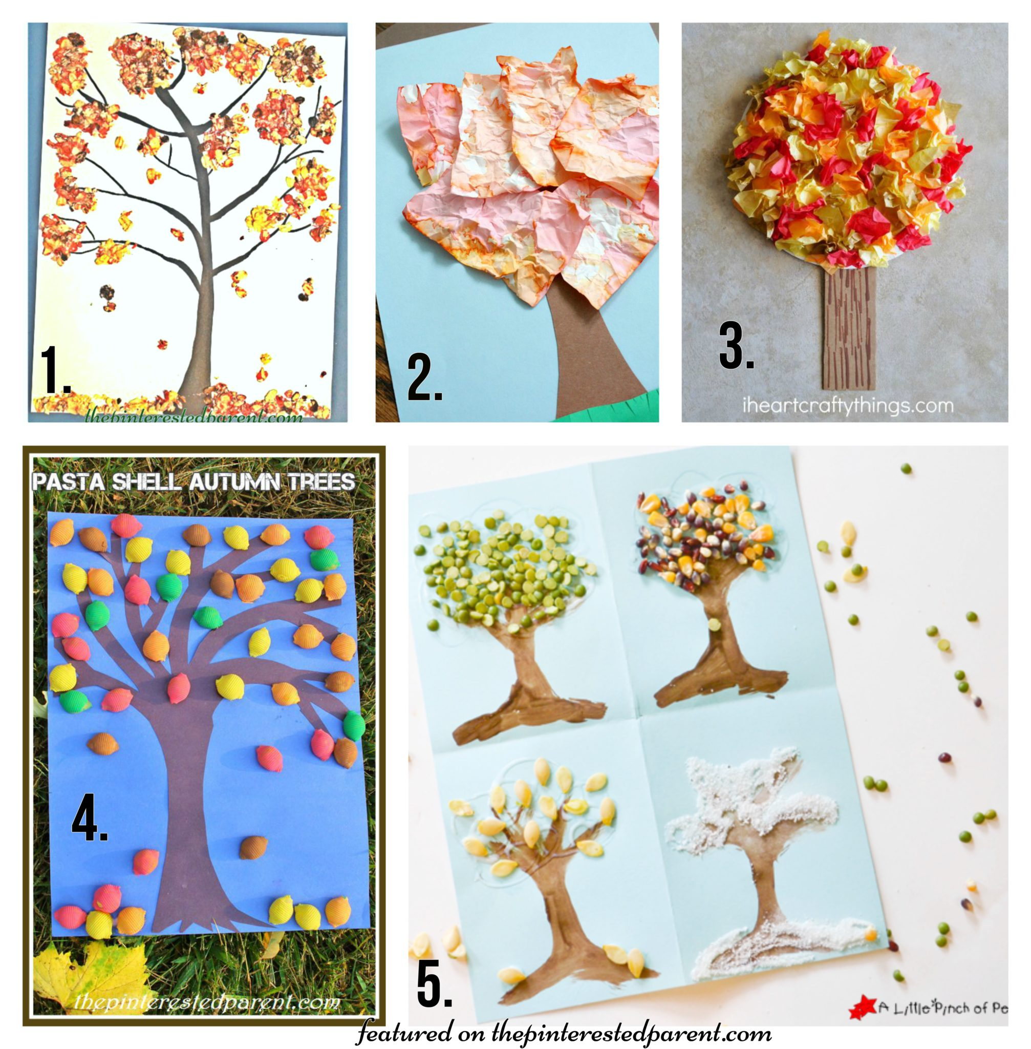 20 Fall Tree Arts Crafts Ideas For Kids The Pinterested Parent