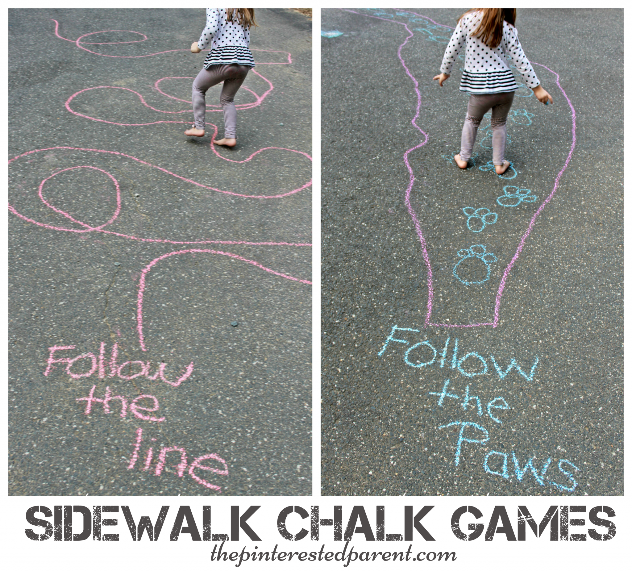 Driveway Chalk Art For Kids