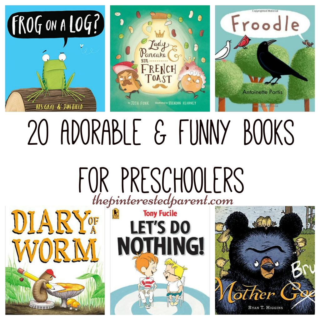 20 Adorable and Funny Preschool Books – The Pinterested Parent