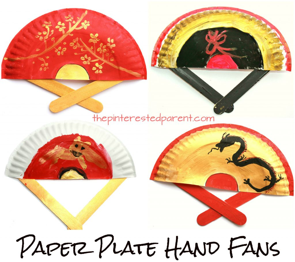 Paper Plate Hand Fans The Pinterested Parent