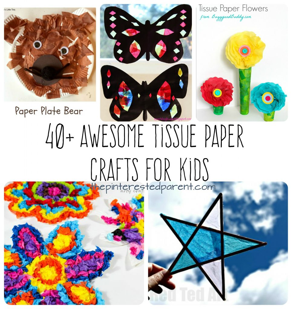 Art Projects With Art Tissue Paper
